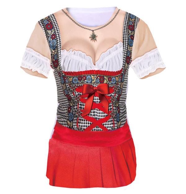 Koa Sünd ist eine Dirndl-Shirt aus der Textilkollektion von Luna Tex
