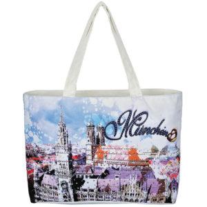 """Einkaufstasche """"City Bag"""" mit dem Motiv München"""