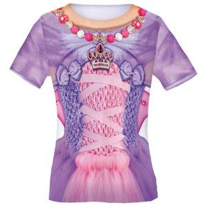Kindershirt und Kostüm Motiv Prinzessin Butterfly