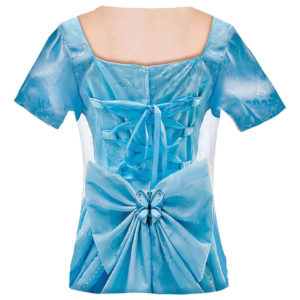 Kindershirt Kostüm-Shirt Prinzessin Blue