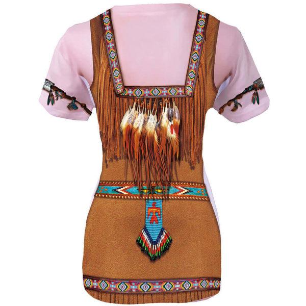 """Damenshirt Fun Shirt """"Indianer"""", Kostüm"""