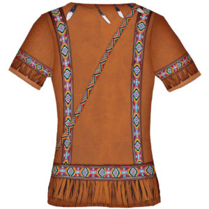 """Kindershirt Mädchen mit dem Motiv """"Indianer"""", Fun Shirt, Kostüm"""