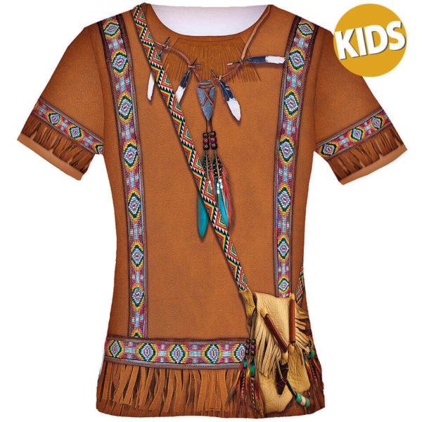 "Kindershirt Fun Shirt ""Indianer"", Kostüm"