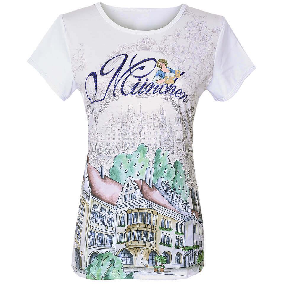 T-Shirt mit Stadtmotiv München, Themen Shirt