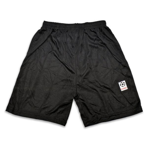 Sporthose schwarz passend zum Trikot im Look der Deutschen Fußball-Nationalmannschaft. Für Kinder