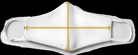 Mund-Nase-Schutz Masken Größenangeaben