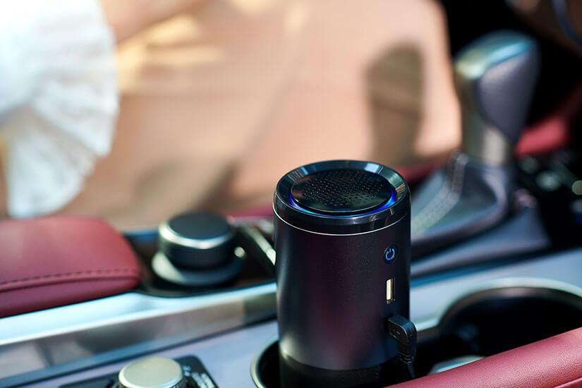 Mini Luftreiniger smart + care fürs Auto
