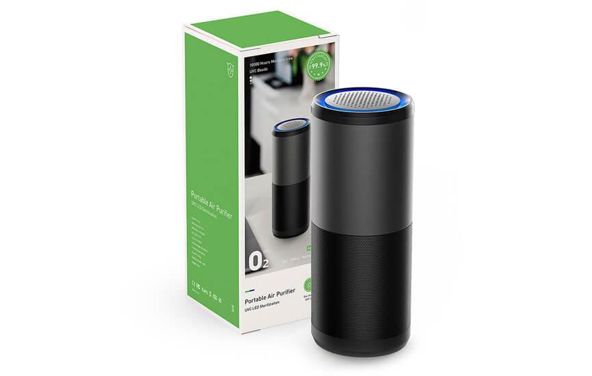 smart + care der mobile Luftreiniger