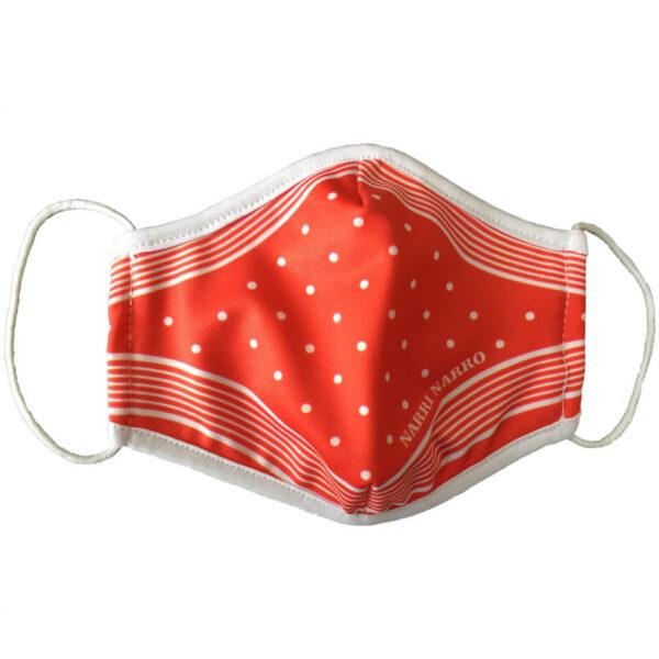 Maske Mund-Nasen-Schutz zu Fasnacht