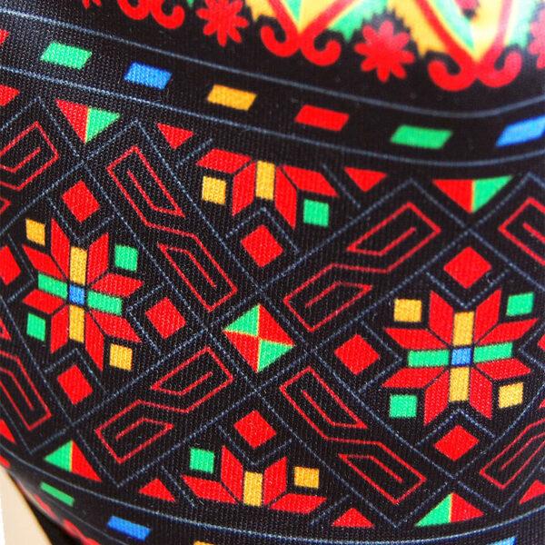 Detail Mundschutz Maya