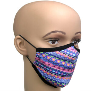 Pretty Pink Corona Maske