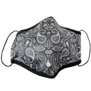 Paisley-Muster auf Corona-Maske
