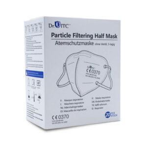 Sparpackung FFP2 Masken, Mundschutz - 20 Masken einzelverpackt