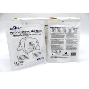 Hochwertige FFP2 Masken in Einzelverpackung, Hygienebeutel